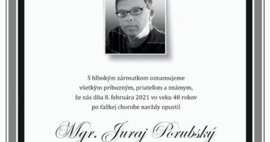 parte Juraj Porubsky