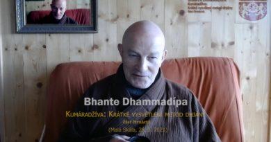 Bhante Dhammadípa: 14. Kumáradžíva – Krátké pojednání o metodách dhjány